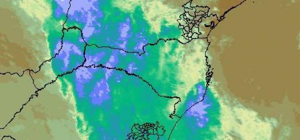 Mais chuva e mais frio para o Sul