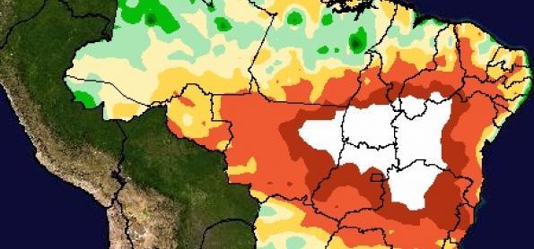 Chuva se espalha pelo Sul e SP