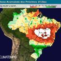 Julho começa com mais chuva no Centro-Sul